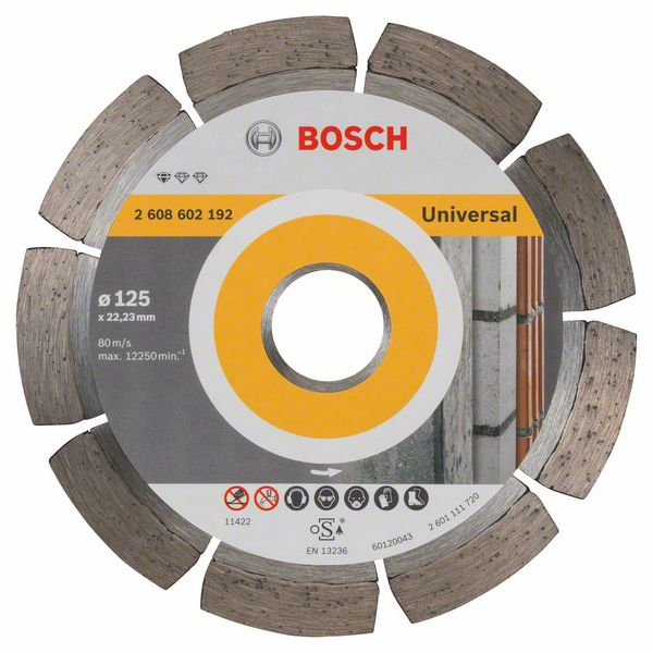 BOSCH Алмазный круг 125-22,23 Professional for Universal BOSCH 2608602192