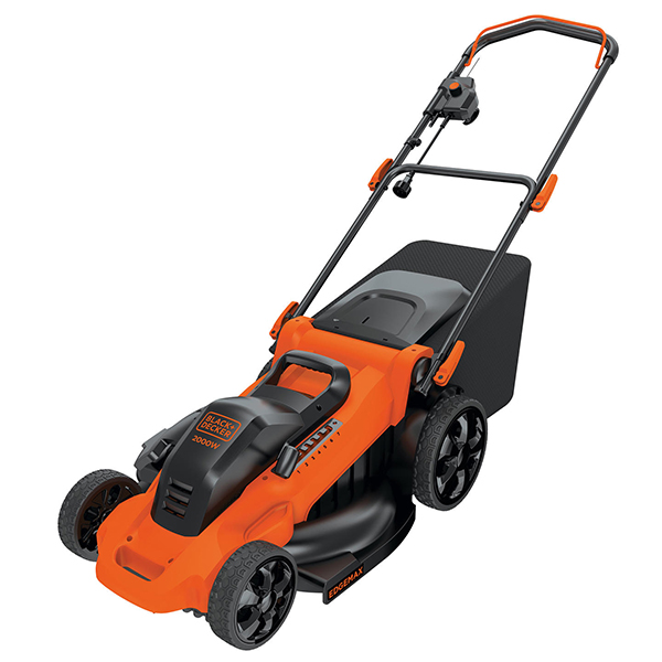 Black and Decker Электрогазонокосилка 1400Вт 34см Black and Decker BEMW461BH