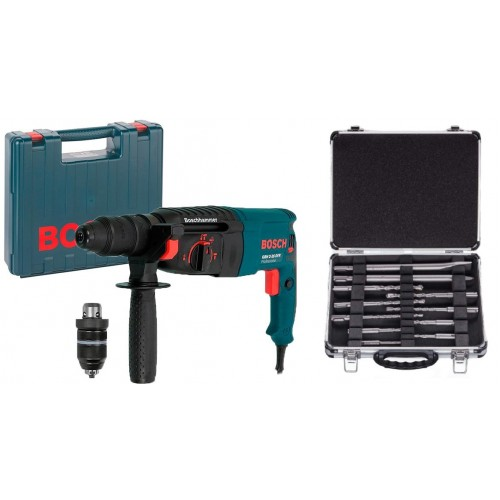 BOSCH Перфоратор SDS-Plus GBH 2-26 DFR + SDS Plus Set (11 шт) BOSCH 0615990L2T