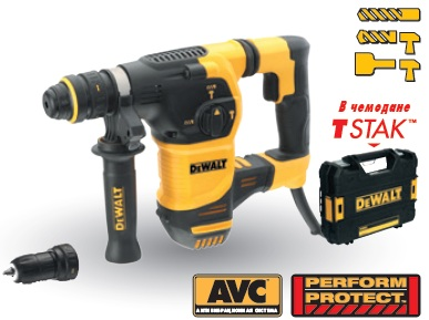 DEWALT Перфоратор SDS-plus DEWALT D25334K-QS