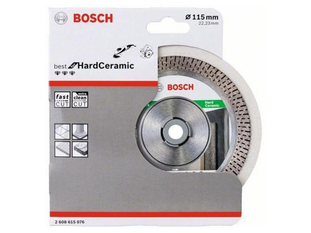 BOSCH Алмазный круг 115 Best for HardCeramic BOSCH 2608615076